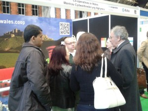 PrimePac talking to Brazilian delegates at Co-ops United
