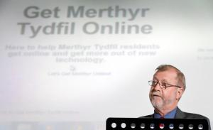 Welsh Government Minister, Jeff Cuthbert