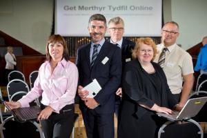 Get Merthyr Tydfil Online launch