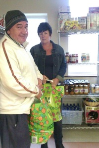 Paul Riley and Fiona Davies from Foodworx in Rhyl