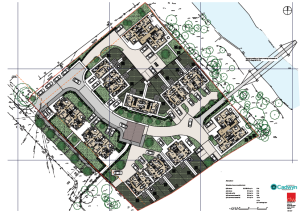 Potential 'garden village' plans for Ely, Cardiff (courtesy of Richard Vaughan, Cadwyn Housing)