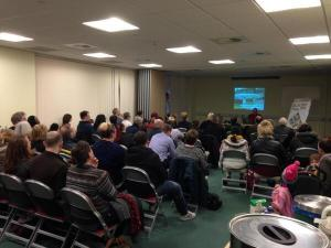 Co-op housing focus group meeting in Ely, Cardiff (courtesy of Richard Vaughan, Cadwyn Housing)