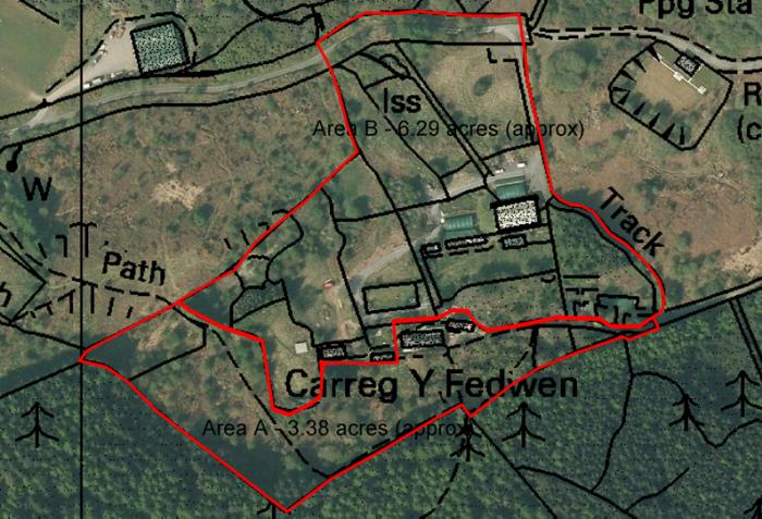Land at Carreg Y Fedwen, Gwynedd