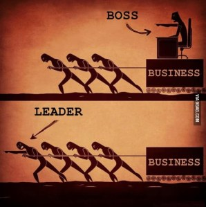 The leader isn't always the manager!