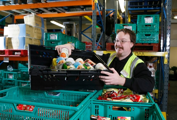 Work at a FareShare North Wales depot, that helps people who are vulnerable to food hardship
