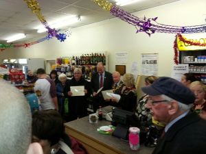 Gwynfi Community Co-operative celebrations