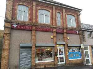 View of outside of Gwynfi Community Co-operative